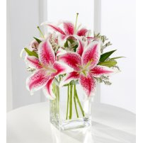 The FTD® Pink Lily Bouquet, USA