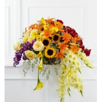 The FTD® Peaceful Tribute™ Arrangement, USA