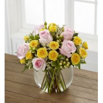 The FTD® Soft Serenade™ Rose Bouquet, USA