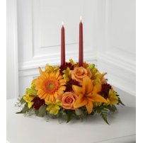 The FTD® Bright Autumn™ Centerpiece, USA