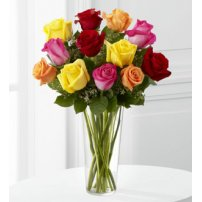 The FTD® Bright Spark™ Rose Bouquet, USA