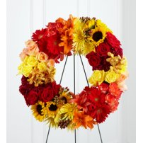 The FTD® Rural Beauty™ Wreath, USA