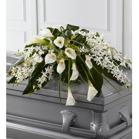 The FTD® Angel Wings™ Casket Spray, USA