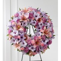 The FTD® Sleep in Peace™ Wreath, USA