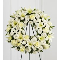 The FTD® Treasured Tribute™ Wreath, USA