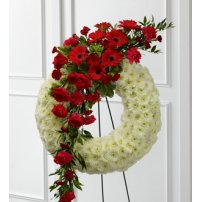 The FTD® Graceful Tribute™ Wreath, USA