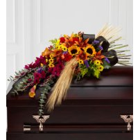 The FTD® Glorious Garden™ Casket Spray, USA