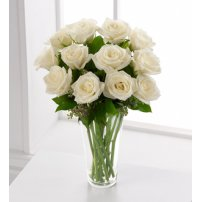 The FTD® White Rose Bouquet, USA