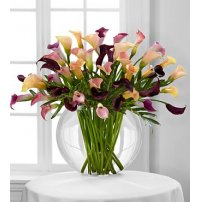 Flawless Luxury Calla Lily Bouquet, USA