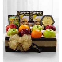 The FTD® Exclusive Fresh Fruit & Savories Gift Box, USA
