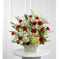 The FTD® In Loving Memory™ Arrangement, USA