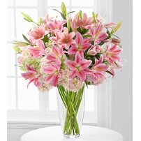 Intrigue Luxury Lily & Hydrangea Bouquet, USA