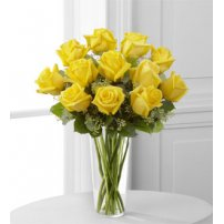 The FTD® Yellow Rose Bouquet, USA