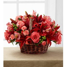 The FTD® Bountiful Garden™ Bouquet - Aurora