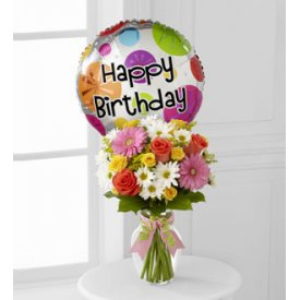 The FTD® Birthday Cheer™ Bouquet - New Haven