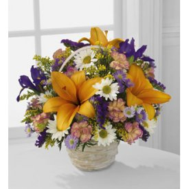 The FTD® Natural Wonders™ Basket - Flowers to  Ely